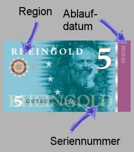 Rheingold: Umlaufsicherung und Sicherheit